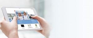 tablet app der Monaco-Apotheke